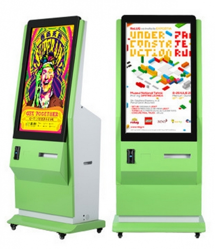 42 Inch Photo Booth Kiosk With Printer And Camera